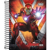 Agenda 2020 Avengers Espiral A 117x164mm 176 FL Tilibra