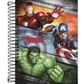 Agenda 2020 Avengers Espiral D 117x164mm 176 FL Tilibra