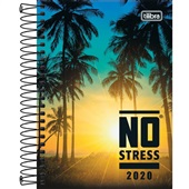 Agenda 2020 No Stress Espiral C 130x188mm 176 FL Tilibra