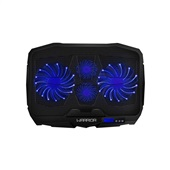 Cooler Gamer para Notebook Ingvar LED Azul 1 UN Warrior