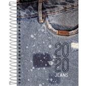 Agenda 2020 Jeans Espiral A 130x188mm 112 FL Tilibra