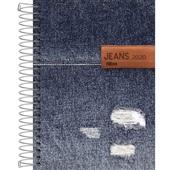 Agenda 2020 Jeans Espiral B 130x188mm 112 FL Tilibra