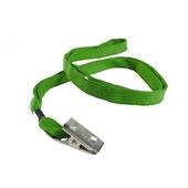 Cordão para Crachá em Poliéster Verde Bandeira PT 10 UN Mares