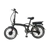 Bicicleta Elétrica Berlim Aro 20 250W Dobrável Preto BI182 1 UN Atrio