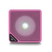 Caixa de Som Cubo Speaker 3W Rosa 1 UN Multilaser