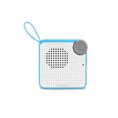 Caixa de Som Mini Bluetooth Speaker 5W Azul 1 UN Multilaser