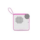 Caixa de Som Mini Bluetooth Speaker 5W Rosa 1 UN Multilaser