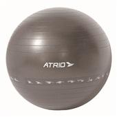 Bola de Ginástica Premium 55cm PVC Cinza ES213 1 UN Atrio
