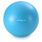 Bola Fitness para Exercícios Mini Material PVC Antiderrapante Azul ES238 1 UN Atrio