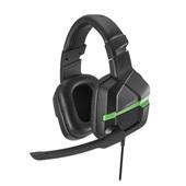 Headset Gamer Askari P3 Stereo Xbox One Verde 1 UN Warrior