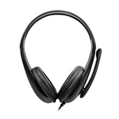 Headset Business Conexão P2 PC Preto 1 UN Multilaser