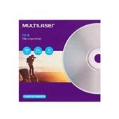 CD-R Velocidade 52X 25 UN Multilaser
