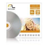 CD-R Velocidade 52X 1 UN Multilaser