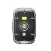 Farol Clip com Luz Dianteiro 20L e Traseiro 2L 250mAh USB Preto BI187 1 UN Multilaser
