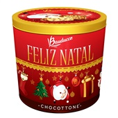 Chocottone Lata Decorativa 750g 1 UN Bauducco
