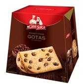 Panettone Gotas de Chocolate 400g 1 UN Casa Suiça