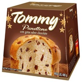 Panettone Chocolate 400g 1 UN Tommy
