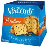 Panettone Frutas 400g 1 UN Visconti