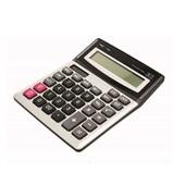Calculadora de Mesa 12 Dígitos Branco e Preto T440 1 UN Tris