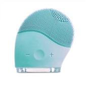 Escova Sônica para Massagem Facial Bella Mini Recarregável Verde Água HC182 Multilaser