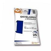 Envelope Plástico de Segurança 19x25cm PT 25 UN Embalagem Fácil