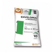 Envelope Plástico de Segurança 50x40cm PT 10 UN Embalagem Fácil