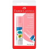 Cola Bastão 10g Color Rosa 1 UN Faber Castell