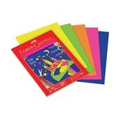 Papel Criativo Max Neon A4 50 FL 1 UN Faber Castell