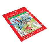 Bloco de Desenho Max A4 20 FL 1 UN Faber Castell