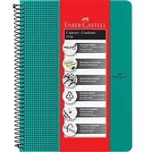 Caderno Universitário Grip Verde 80 FL 1 UN Faber Castell