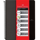 Caderno Universitário Grip Preto 80 FL 1 UN Faber Castell