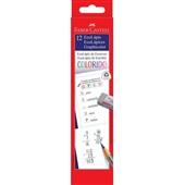 Lápis Graphicolor Azul 12 UN Faber Castell