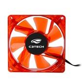 Cooler Fan Gamer Storm 8cm Vermelho F7-L50RD 1 UN C3Tech