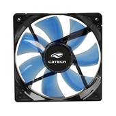 Cooler Fan Gamer Storm Led F7-L100BL Preto C3Tech