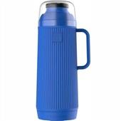 Garrafa Térmica Mundial Rolha Clean 1L Azul 1 UN Termolar