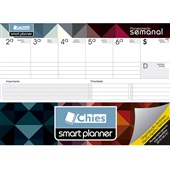 Planner Permanente Semanal Abstrato A4 48 FL Chies