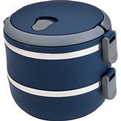 Marmita Lunch Box Azul 1 UN Euro