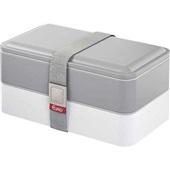 Marmita Lunch Box Fit Cinza 1 UN Euro