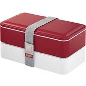 Marmita Lunch Box Fit Vermelho 1 UN Euro