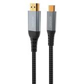 Cabo USB-C para HDMI Preto 1 UN Geonav