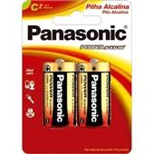 Pilha Alcalina Média C Power 2 UN Panasonic