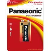 Bateria Power Alkaline 9V 6LR61 1 UN Panasonic