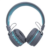Headphone Candy Bluetooth Azul Pastel HS310 1 UN OEX