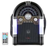 Caixa de Som Portátil Retro Bluetooth 35W TRC 210B 1 UN TRC