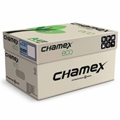 Papel Sulfite A4 Reciclado Eco 210x297mm 75g CX 5000 FL Chamex