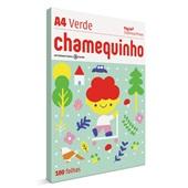 Papel Sulfite Chamequinho Verde 75g A4 21x29,7cm 100 FL Chamex