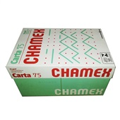 Papel Sulfite Carta Branco 216x279mm 75g CX 5000 FL Chamex
