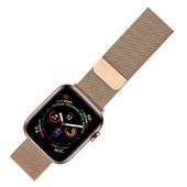Pulseira Apple Watch Milanese Dourado 1 UN Geonav