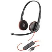 Headset Blackwire USB C3220 Preto 1 UN Plantronics