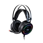 Headset Gamer Flamma USB 2.0 Preto PH306 1 UN Warrior